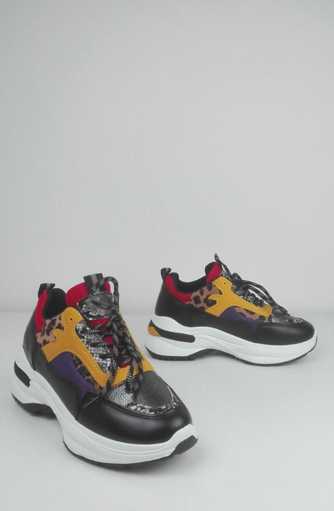 Delhwa sneakers Black-1
