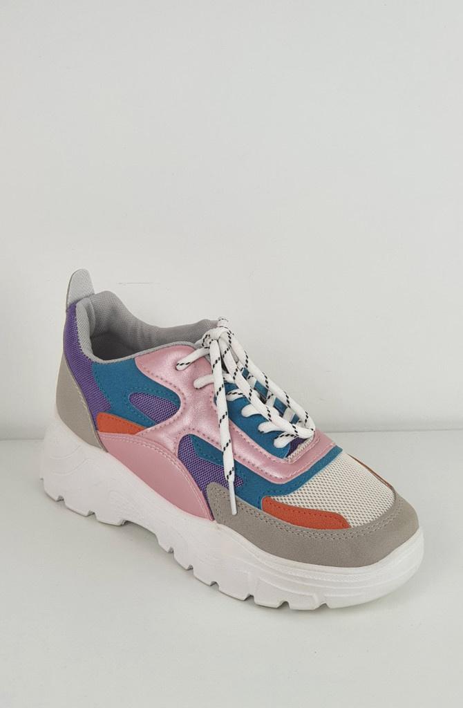 Rusty sneakers Purple-2