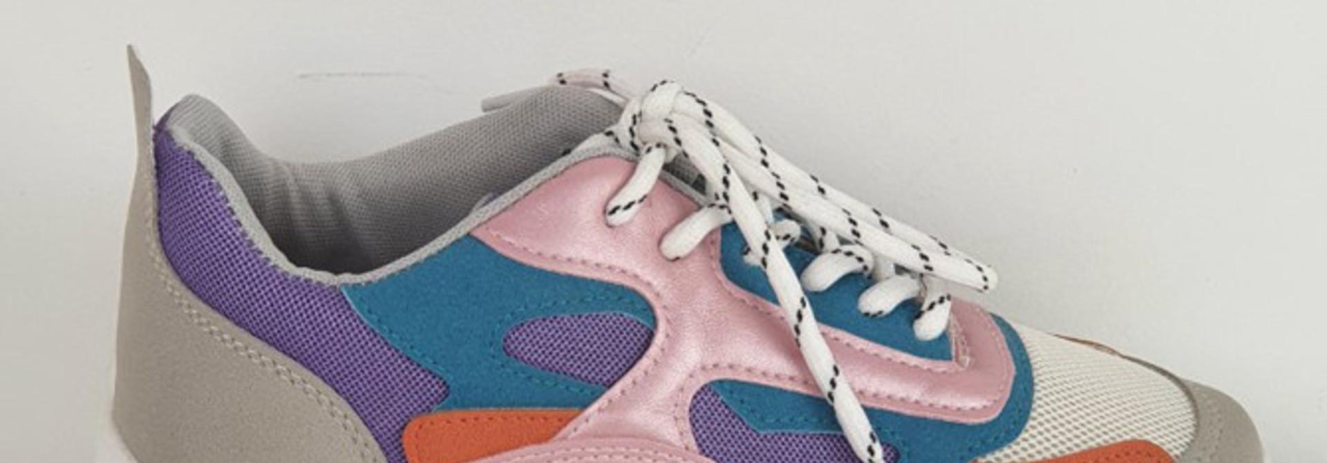 Rusty sneakers Purple