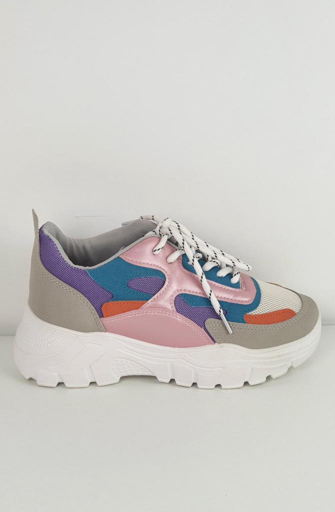 Rusty sneakers Purple-1