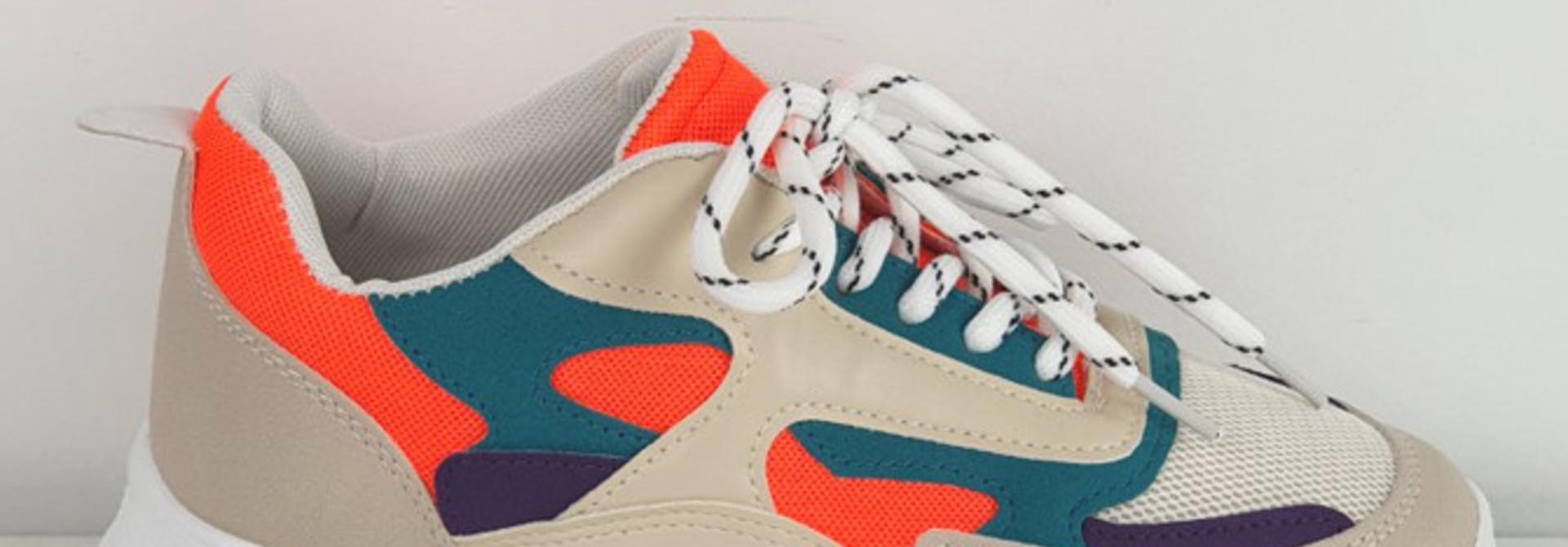 Rusty sneakers Orange
