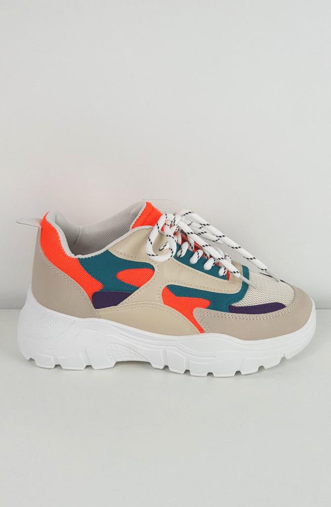 Rusty sneakers Orange-1