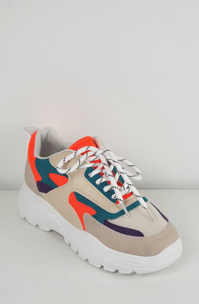 Rusty sneakers Orange-2