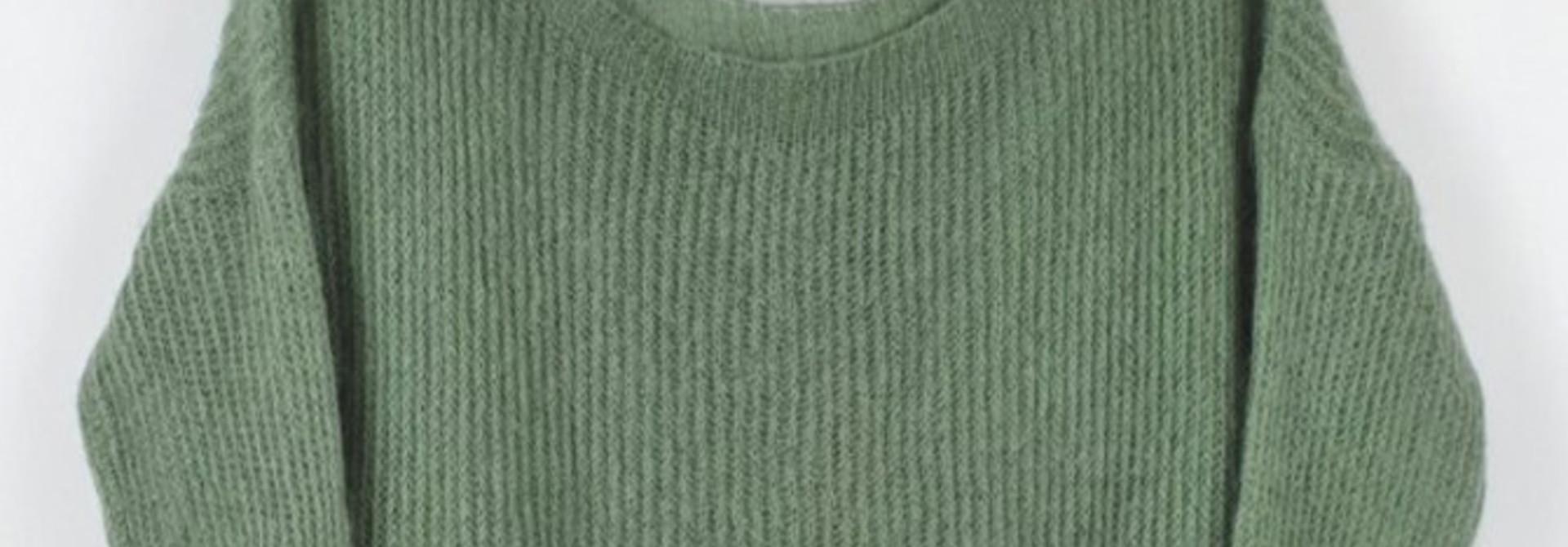 Felice fine knit Advocado
