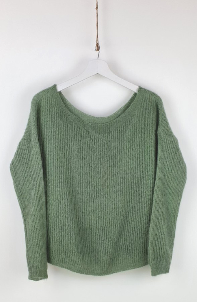 Felice fine knit Advocado-1