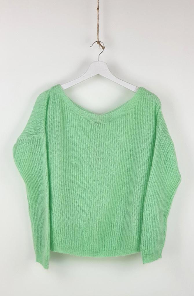 Felice fine Knit Mint-1