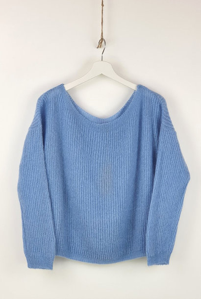 Felice fine knit Sky Blue