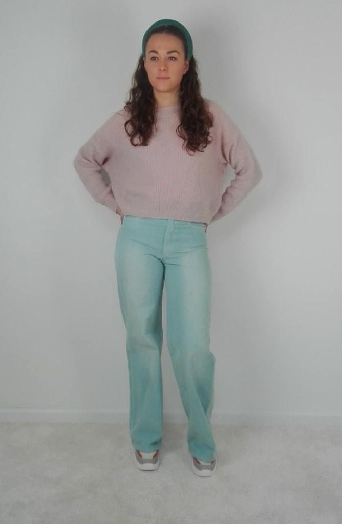 True corduroy wide pant Tinfany-2