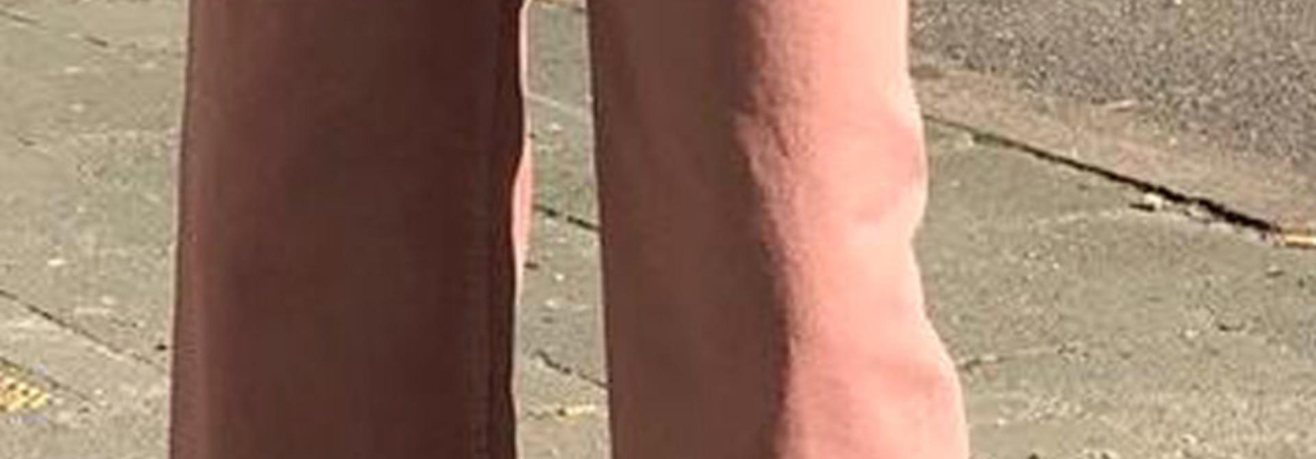 Trosh fringed wide pant Old Rose