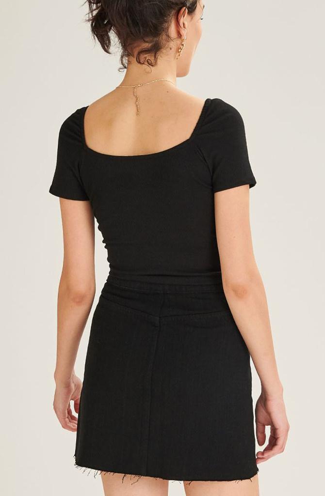 Dakota skirt Black-2