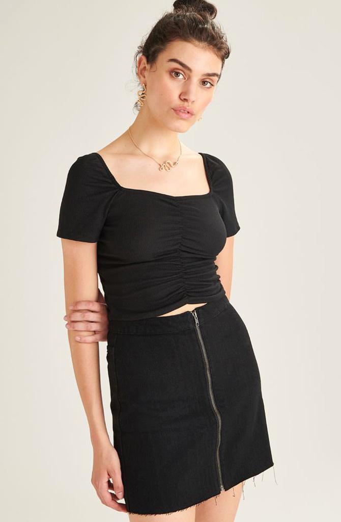 Dakota skirt Black-1