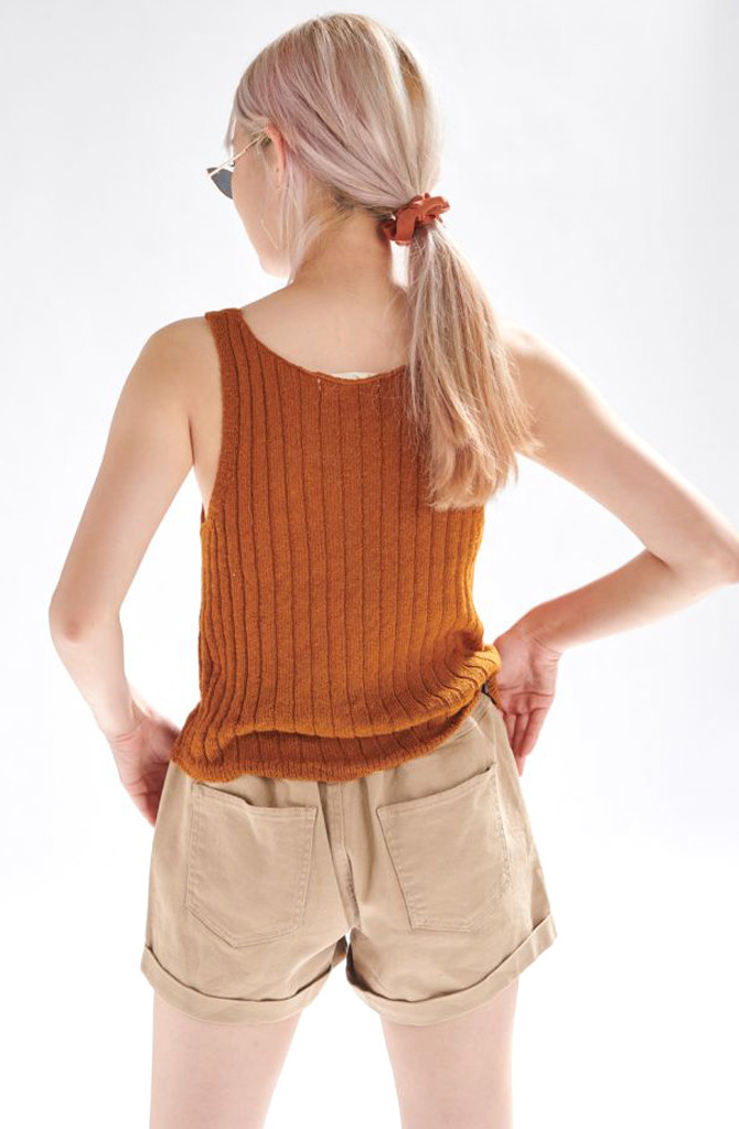 Bryndis knitted top Hazel-2