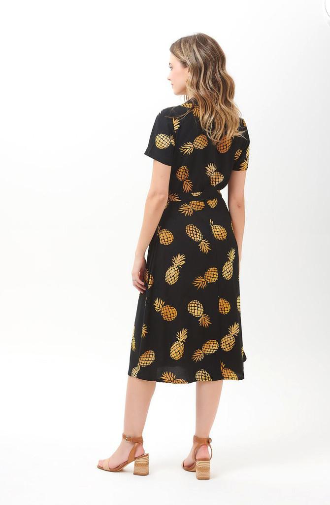Kendra shirtdress Batik Pineapple-6
