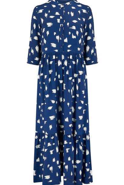Lauren smock dress Animal Blue