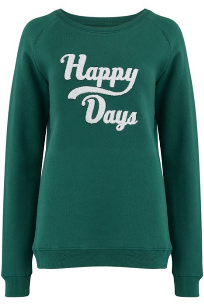 Noah happy days sweater Green