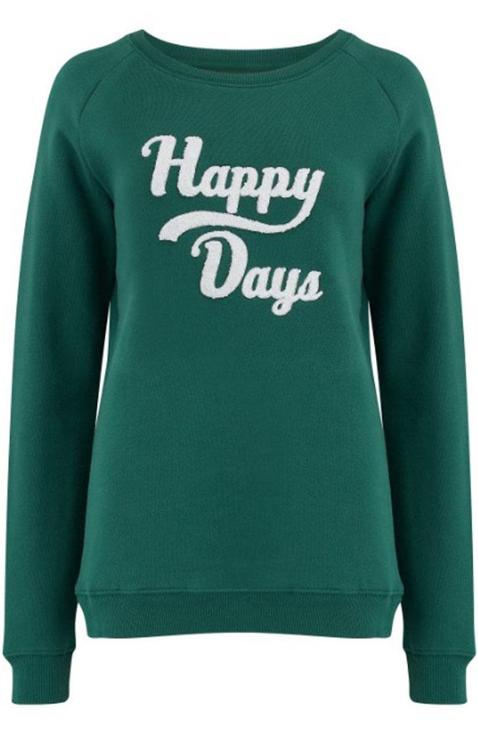 Noah happy days sweater Green-1