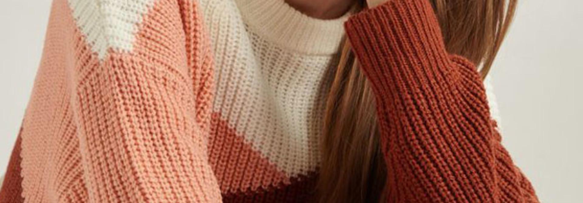 Graffëa knitted sweater Rust