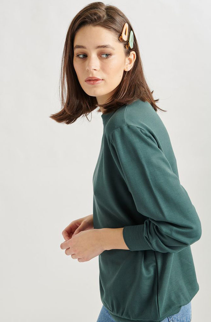 Cami sweater Green-2