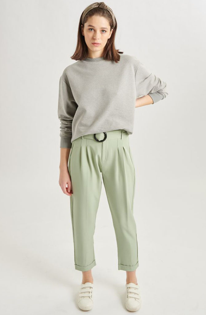 Cami sweater Moss-1