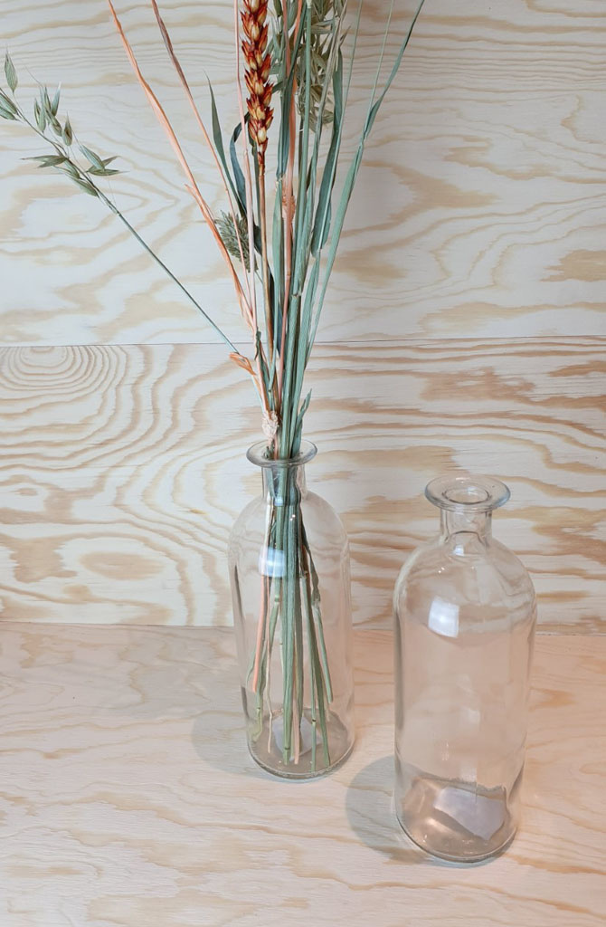 Caro small bottle vase Transparant-4