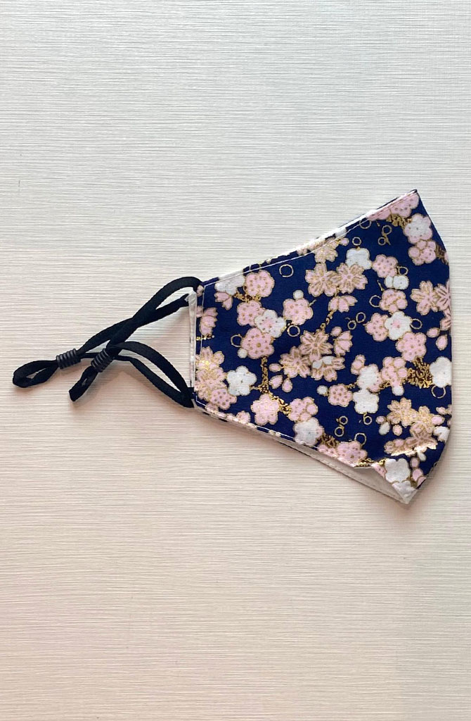 Nehea cotton face mask Rose Blossom-1