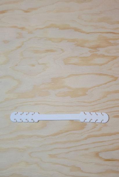 Flex adjustment rubber White
