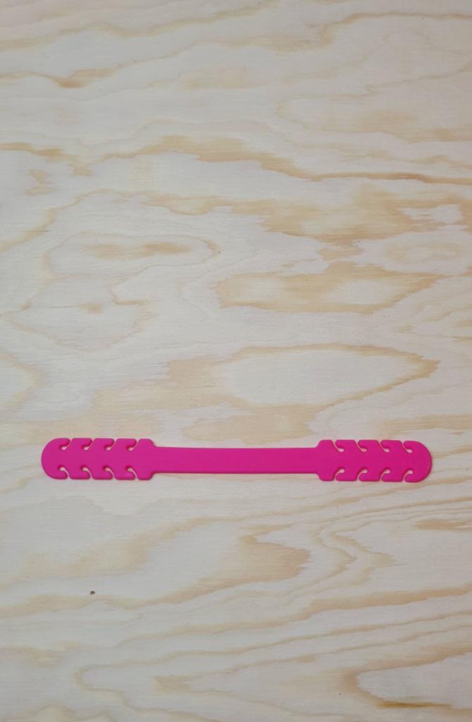 Flex adjustment rubber Fushia-1