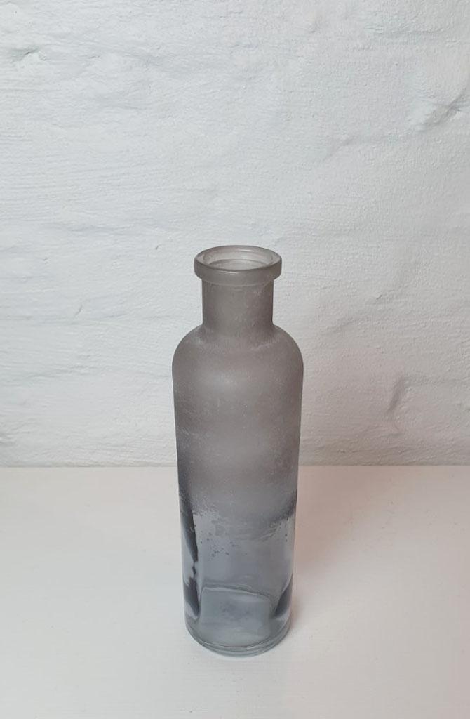 Bottle vase moira XS Iced Black-3