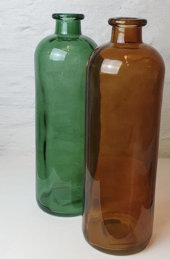Bottle vase XL Gold-2