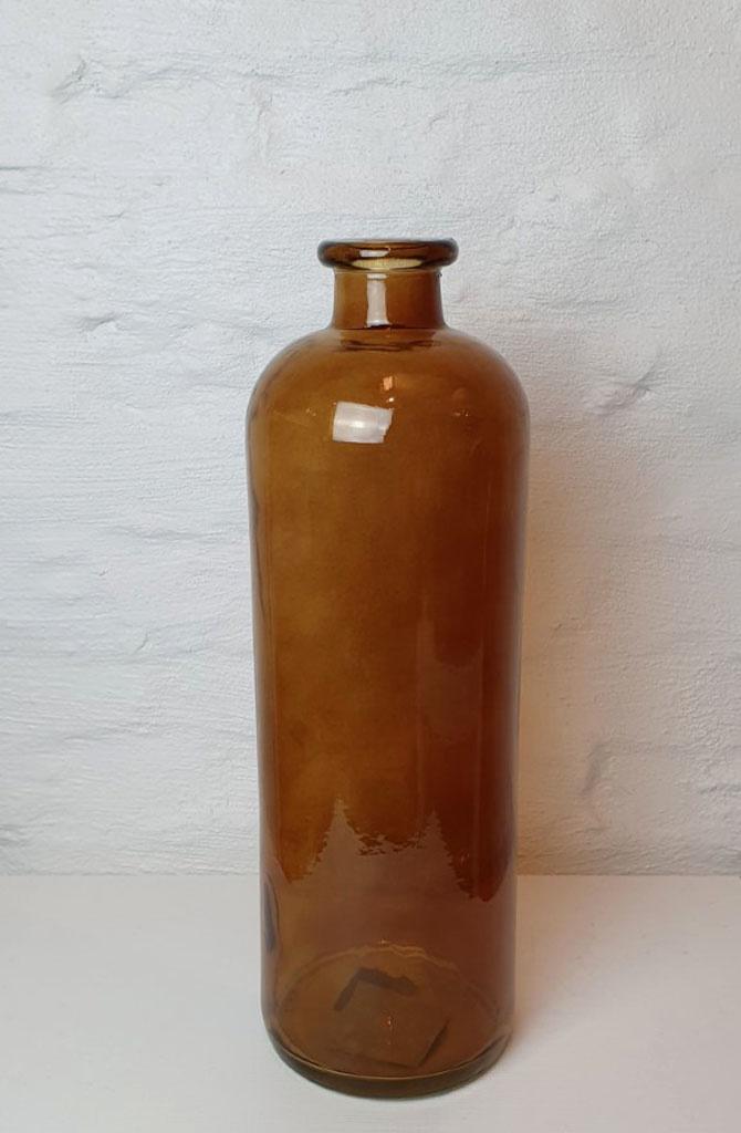 Bottle vase XL Gold-1