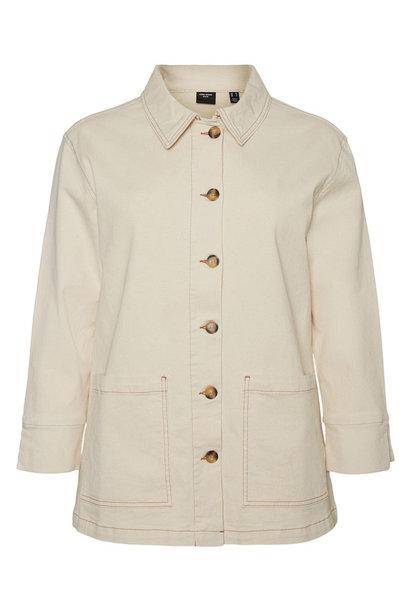 Shöppe jacket Ecru