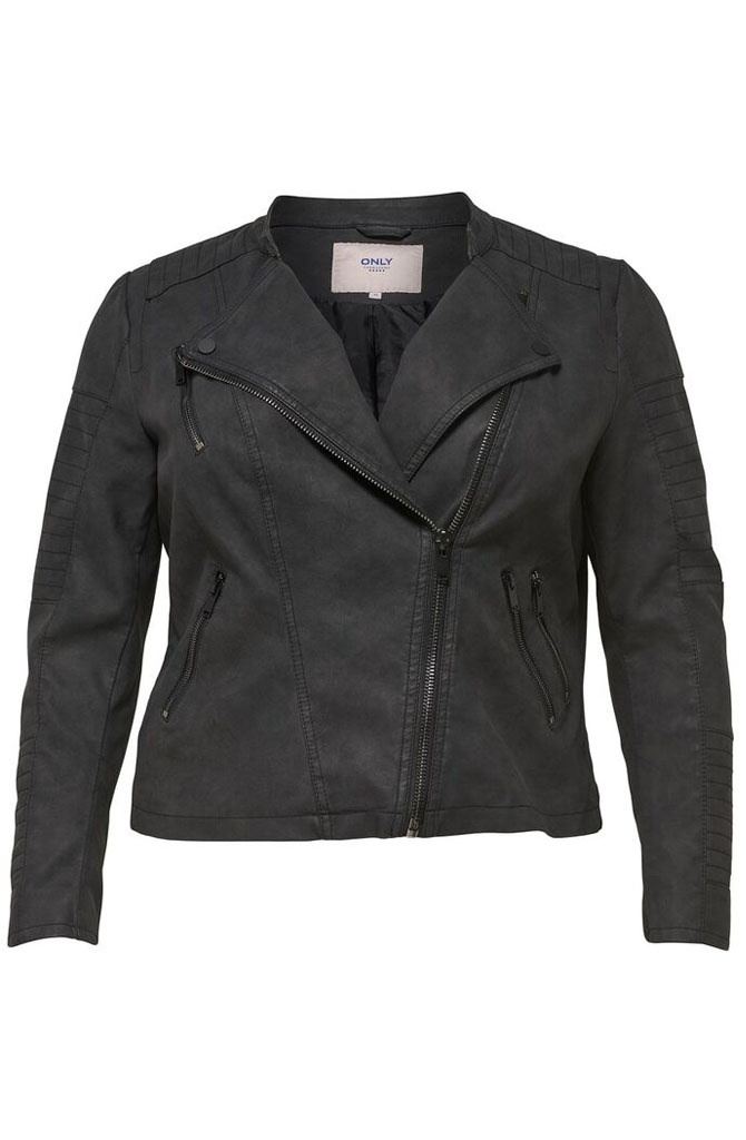 Caravana biker jacket Soft Black-3