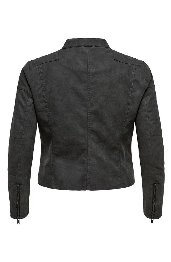 Caravana biker jacket Soft Black-4