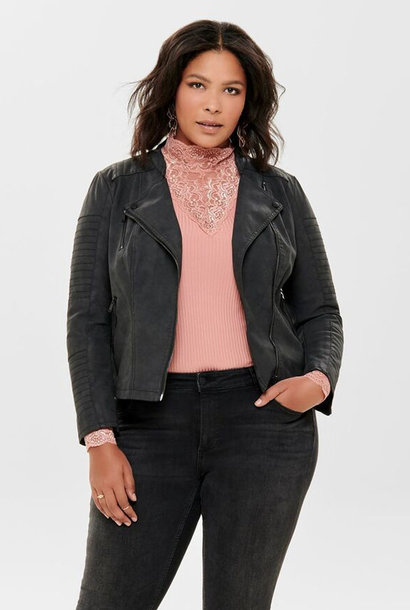 Caravana biker jacket Soft Black