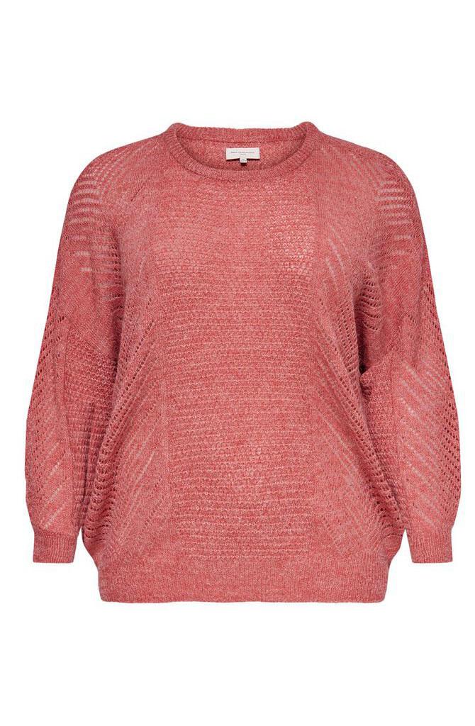Carrose knit Rose Melange-1