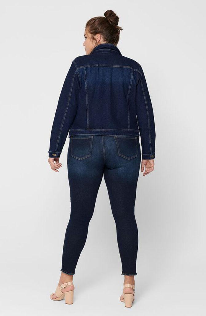 Wespa denim jacket Dark Blue-5
