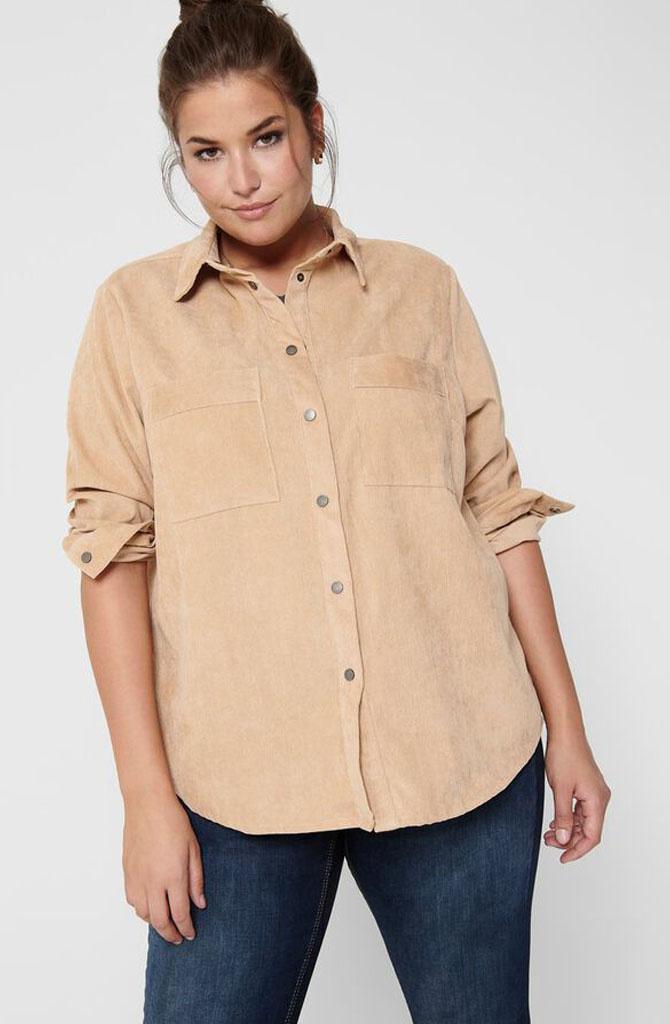 Fankalyp corduroy shirt Ginger-1