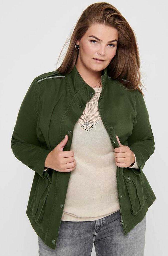 Carq jacket Khaki-1