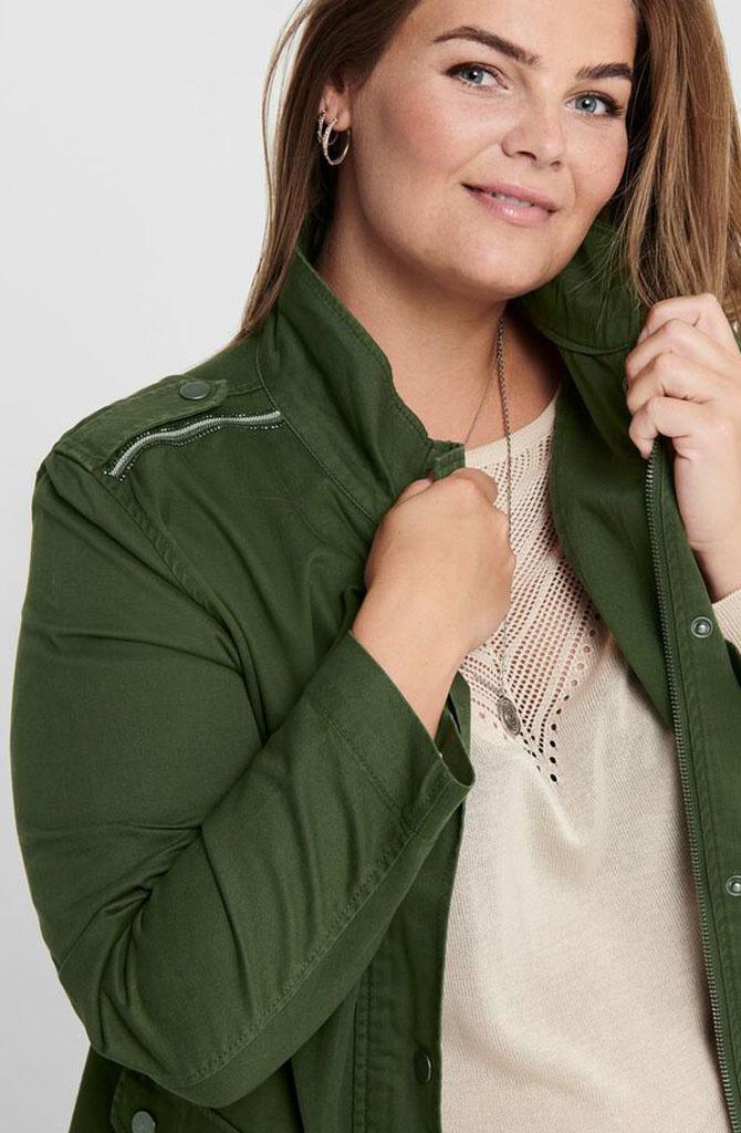 Carq jacket Khaki-2