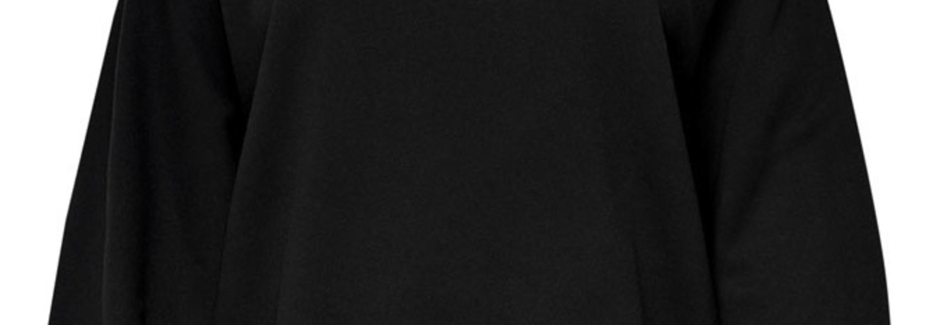 Lulu sweater ballon sleeve Black