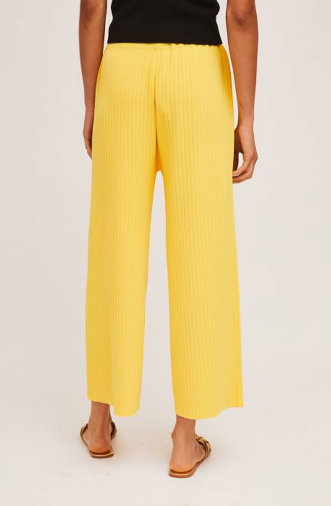 Gaëlle knitted pant Yellow-4
