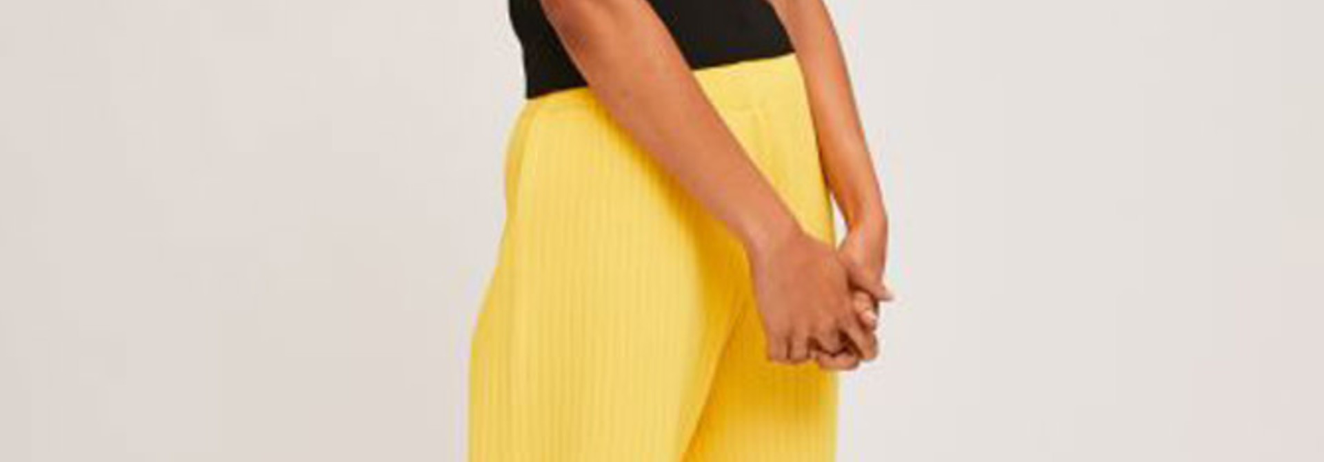 Gaëlle knitted pant Yellow