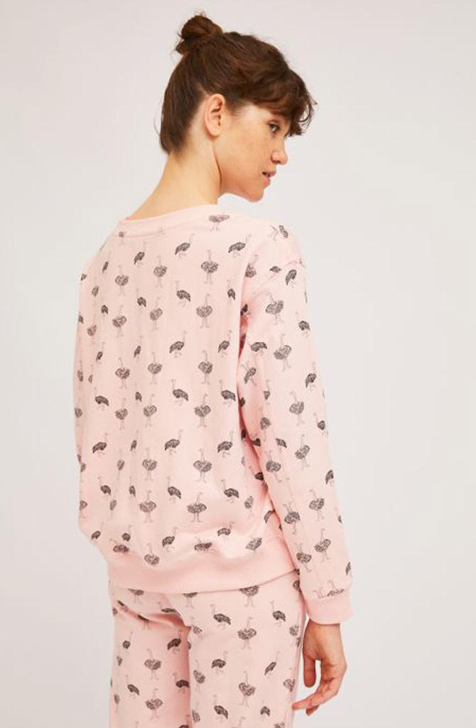 Pleaum ostrich homewear sweater-2