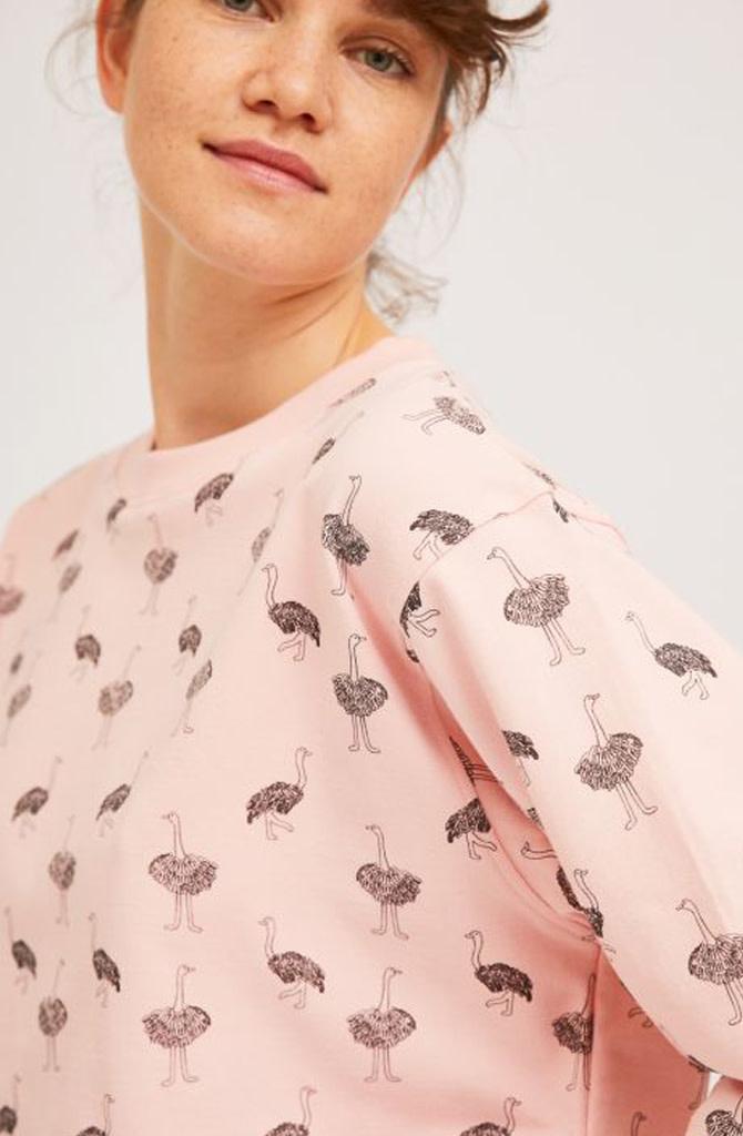 Pleaum ostrich homewear sweater-3