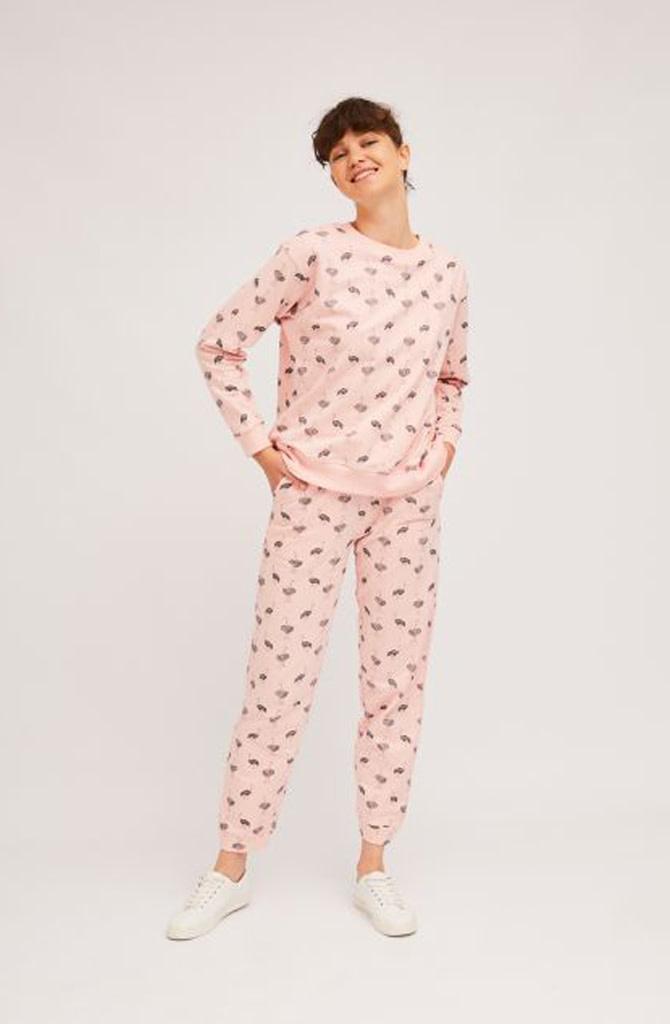 Pleaum ostrich homewear sweater-4