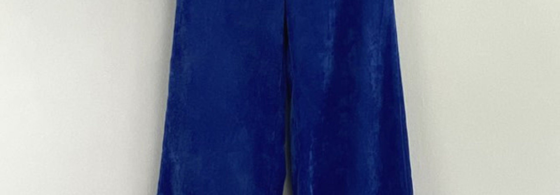 Charro corduroy wide pant Royal Cobalt