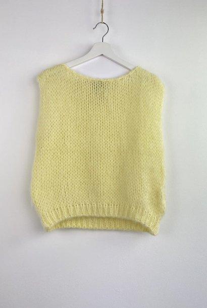 Ilosh debardeur Soft Yellow