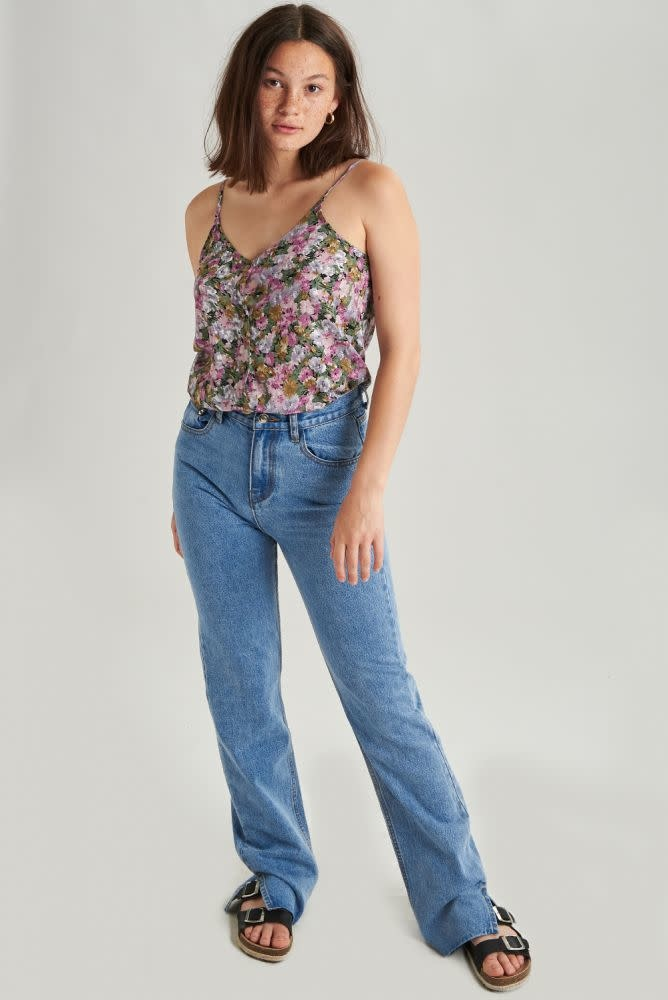 Nina strap top Purple-1