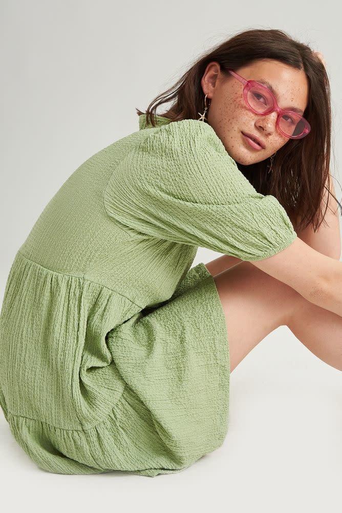 Melly dress Blossom Green-2