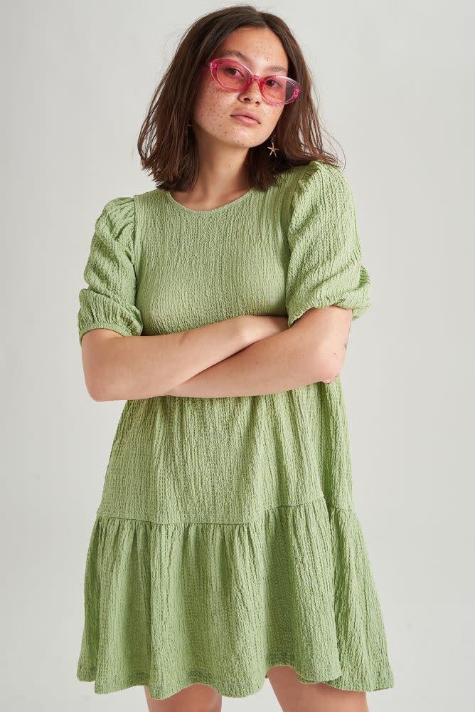 Melly dress Blossom Green-1